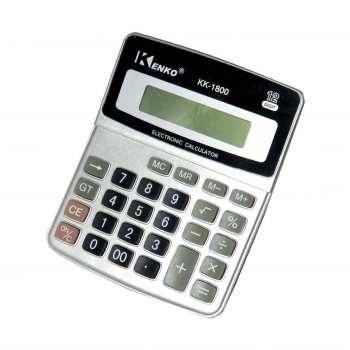 main images ماشین حساب karuida مدل kk-1800 electronic calulator karuida kk-1800