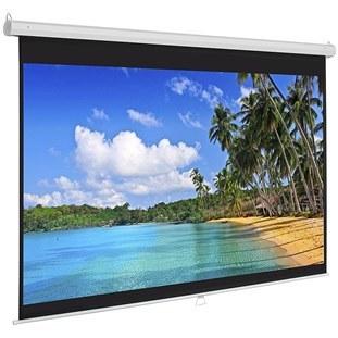 تصویر پرده نمایش پروژکتور Scope دستی 180×180  wall 1:1 Scope Projector Screen 180×180  wall 1:1