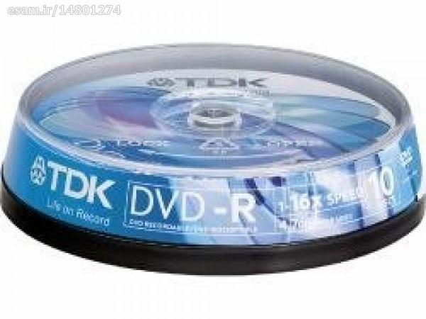 دی وی دی خام برند TDK |