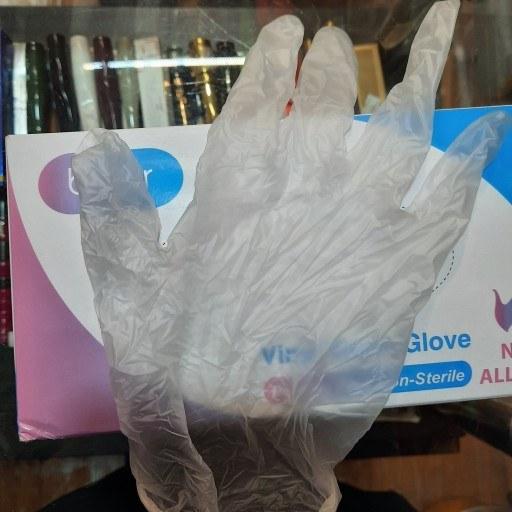 دستکش یکبار مصرف (لاتکس و وینیل)فروش بصورت جفتی