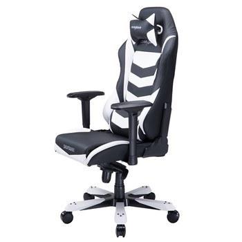 تصویر صندلی گیمینگ دی ایکس ریسر سری آیرون مدل OH/IS166/NW چرمی Dxracer Iron Series OH/IS166/NW Leather Gaming Chair