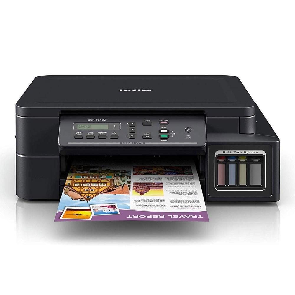تصویر پرینتر چندکاره جوهرافشان برادر مدل DCP-T510W Printer DCP-T510W All-in-One Inkjet Printer