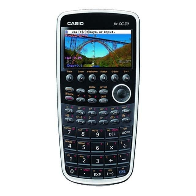 ماشین حساب کاسیو مدل fx-CG20 | Casio fx-CG20 Calculator