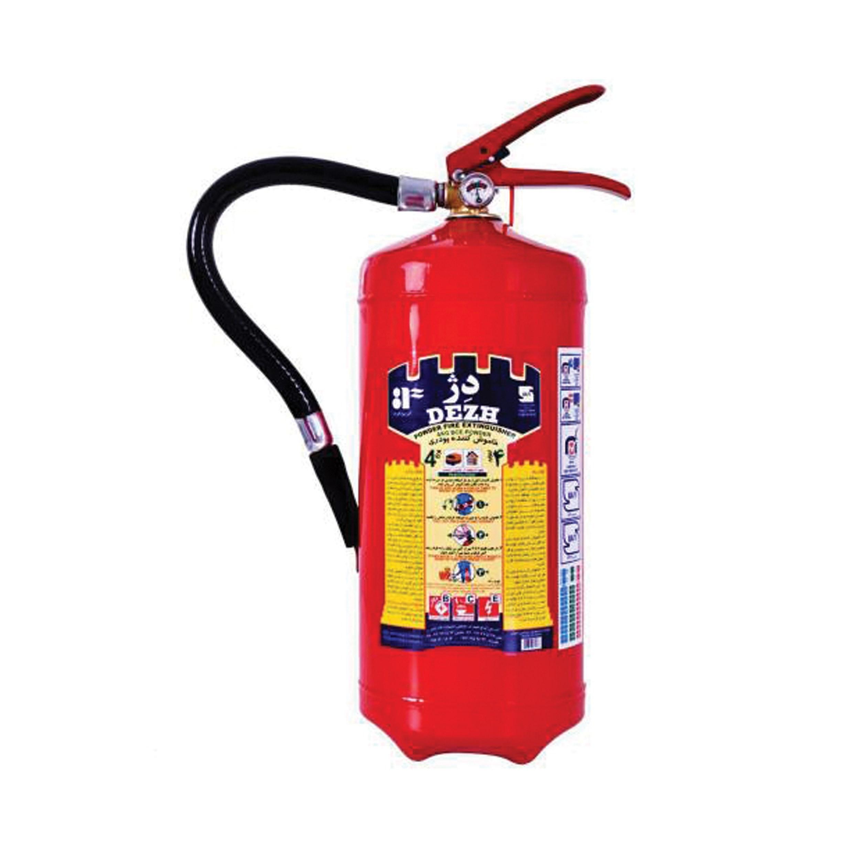 کپسول آتش نشانی پودری دژ ۴ کیلوگرمی