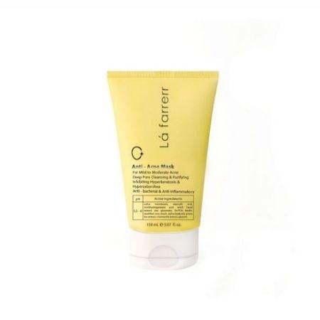 تصویر ماسک صورت ماسک ضد آکنه مخصوص پوست های مستعد آکنه لافارر Anti Acne Mask For Mild To Moderate Acne Lafarrerr
