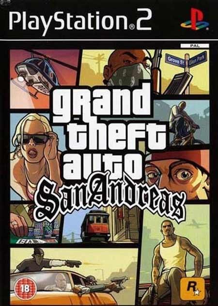 تصویر خرید بازی Grand Theft Auto San Andreas برای PS2