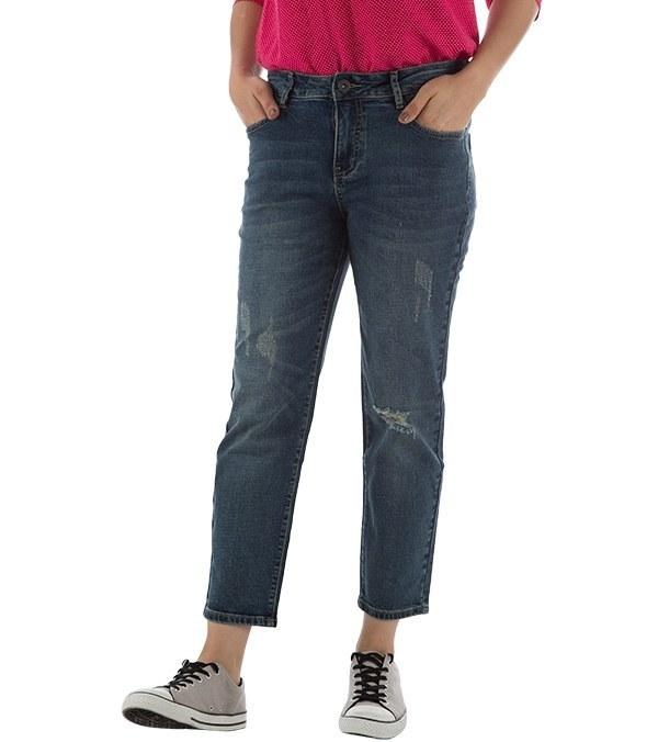 شلوار جین زنانه زاپ دار بالنو Baleno