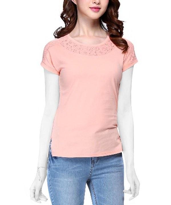 تی شرت توری زنانه جین وست