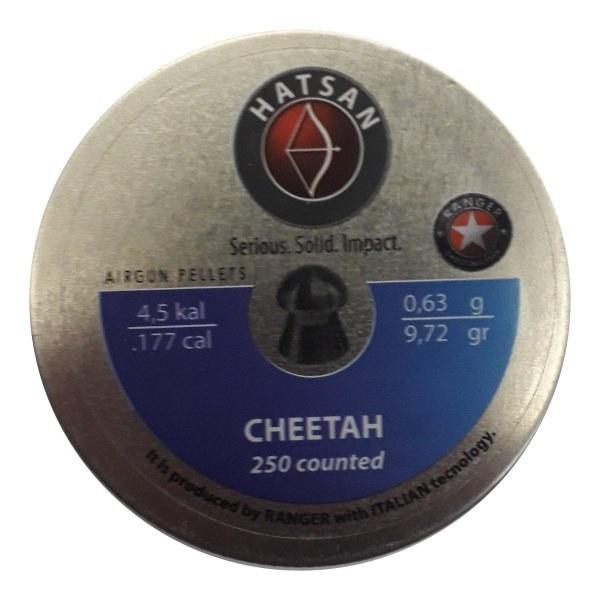 ساچمه تفنگ بادی هاتسان چیتا 4.5|250|9.72 | Hatsan Cheetah Airgun Pellet Cal. .177