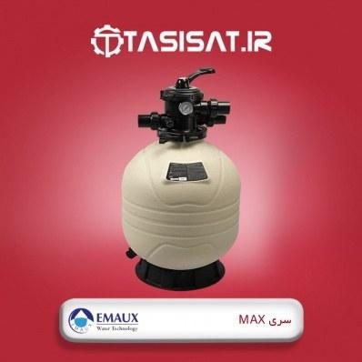 تصویر فیلتر شنی تصفیه آب استخر ایمکس سری مکس - شیر از بالا