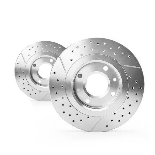 تصویر دیسک ترمز چرخ جلو کاردینال مناسب برای 206 تیپ 5 بسته 2 عددی Cardinal brake disc Suitable for 206