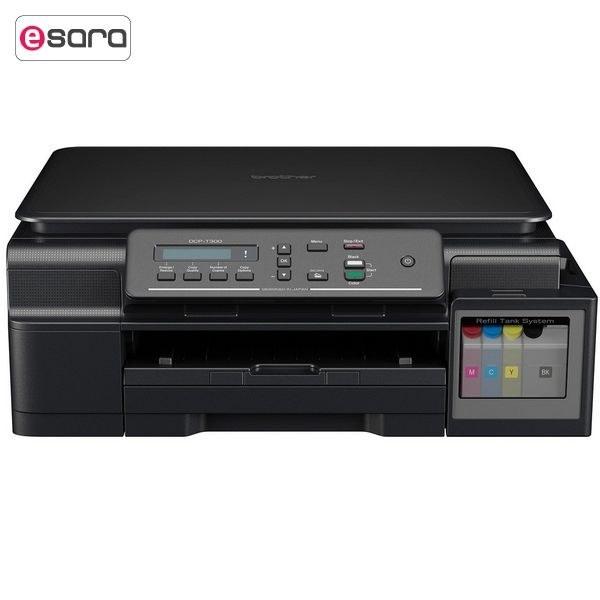 تصویر پرينتر جوهرافشان رنگي چندکارهي برادر مدل DCP-T300 Brother DCP-T300 Multifunction Inkjet Color Printer