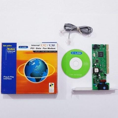 main images کارت مودم / اینترنال / دو چیپ / PCI. Data. Fax Modem