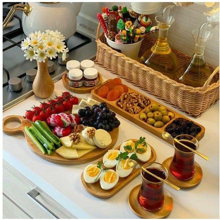 تصویر کد 5-184   ست صبحانه چوبی