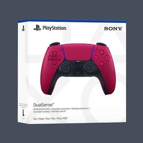 تصویر دسته بازی Sony مدل PS5 DualSense Cosmic Red ا کد محصول: Dualsense ps5 کد محصول: Dualsense ps5