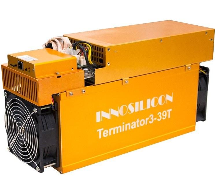 تصویر دستگاه ماینر اینوسیلیکون مدل T3-39T دستگاه ماینینگ اینوسیلیکون T3-39T BTC Miner