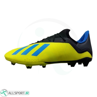 کفش فوتبال آدیداس ایکس طرح اصلی زرد Adidas X