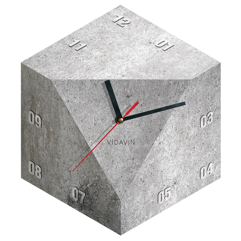 تصویر ساعت دیواری ویداوین مدل Cube 6