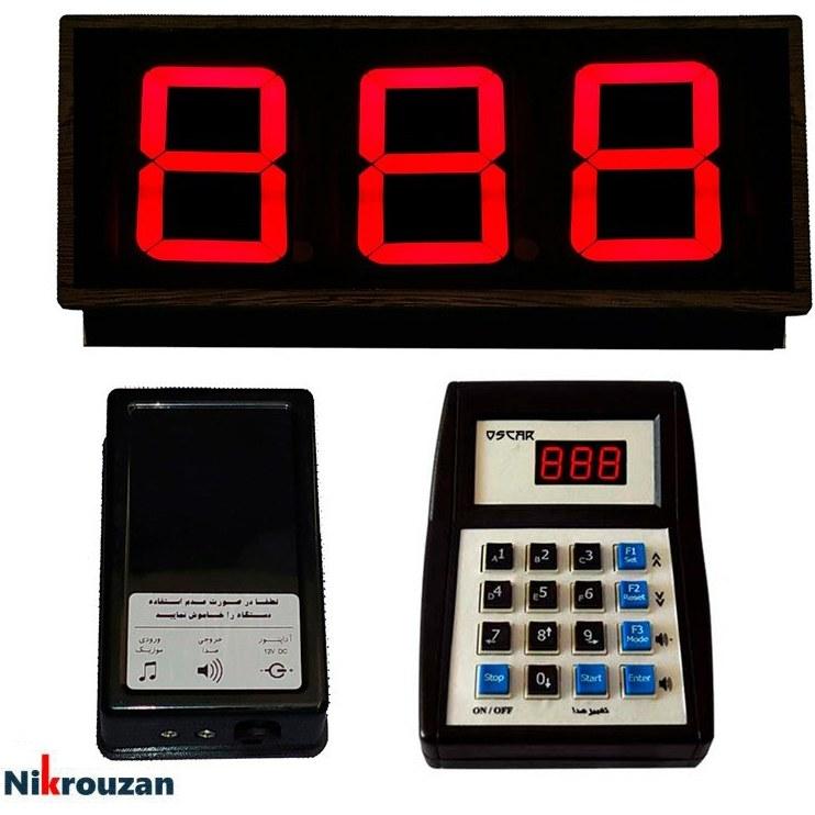 تصویر دستگاه فراخوان مشتری بیسیم اسکار مدل OSCAR RF5002