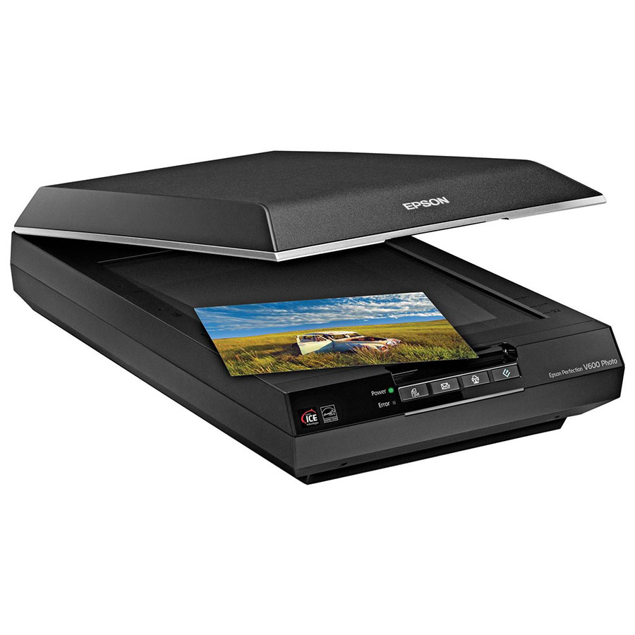 تصویر اسکنر مسطح اپسون Epson Flatbed Scanner Perfection V600