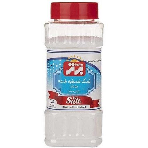 تصویر نمک تصفیه شده یددار برتر 250 گرمی