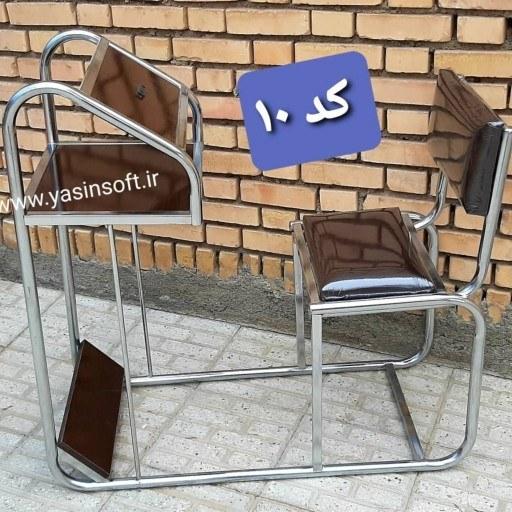 main images صندلی نماز حرمی قهوه ای کد 10