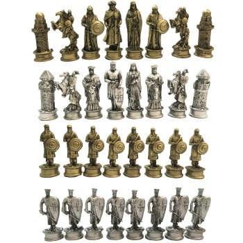 مهره شطرنج مدل RZ 709 مجموعه ۳۲ عددی  