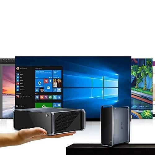 مینی کامپیوتر ، CHUWI GT Box Windows 10 Home Office Office Mini PC ، 8 GB DDR3 256GB SSD ، قابل ارتقا 2TB 2.5 اینچ HDD ، 1TB SSD با 2.4 گیگاهرتز / 5 گیگاهرتز Dual WiFi 1000Mbps / BT4.2