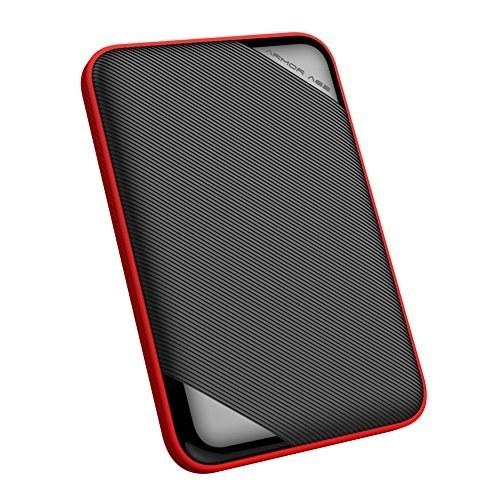 تصویر هارد اکسترنال قابل حمل سیلیکون Power 4TB زره پوش A62L مقاوم در برابر ضربه / IPX4 / مقاوم در برابر ضد آب / ضد خش USB 3.0 2.5 \u0026quot;برای رایانه های شخصی ، مک ، ایکس باکس و PS4