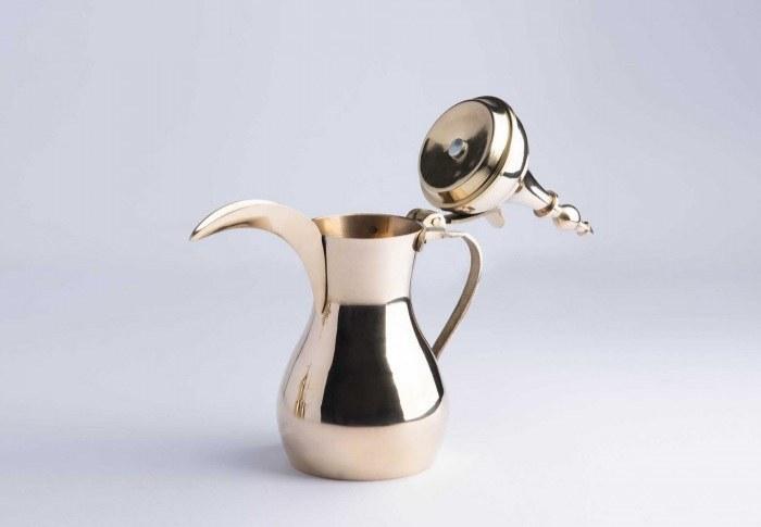 تصویر دله قهوه برنجی ۲۰۰ml