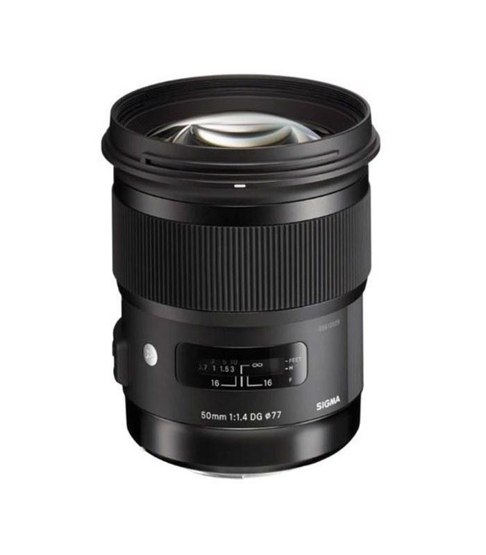 تصویر لنزسیگما Sigma 50mm f/1.4 DG HSM Art for Sony