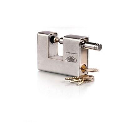 تصویر قفل کتابی روکش دار پارس قفل مدل 1000S