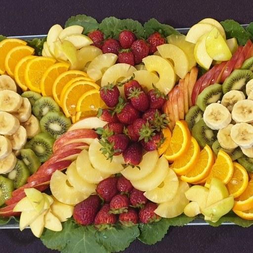 سینی میوه آماده برای پذیرایی | سینی میوه دو کیلویی