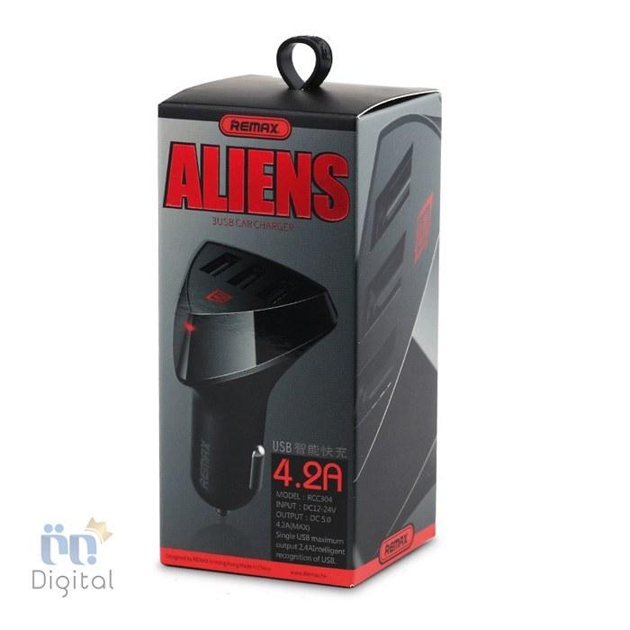 شارژر فندکی Alien ریمکس مدل RCC304