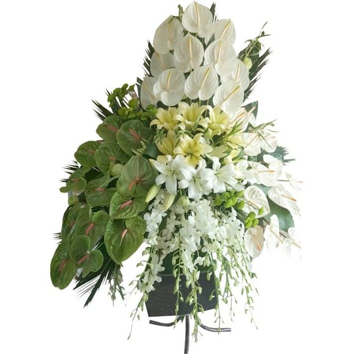 تصویر تاج گل پایه فرفوژه TG 515