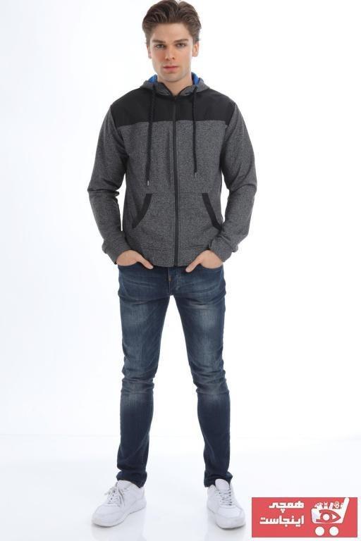 تصویر خرید نقدی ژاکت بافتی مردانه فروشگاه اینترنتی برند Prozone رنگ مشکی کد ty55412888