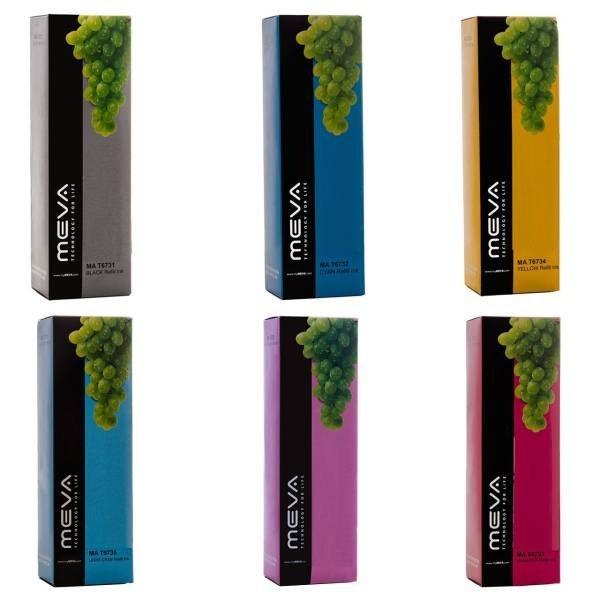 تصویر پک 6 رنگ جوهر میوا مدل T6731 الی T6736|- ا Meva T6731 To T6736 Package Ink Meva T6731 To T6736 Package Ink