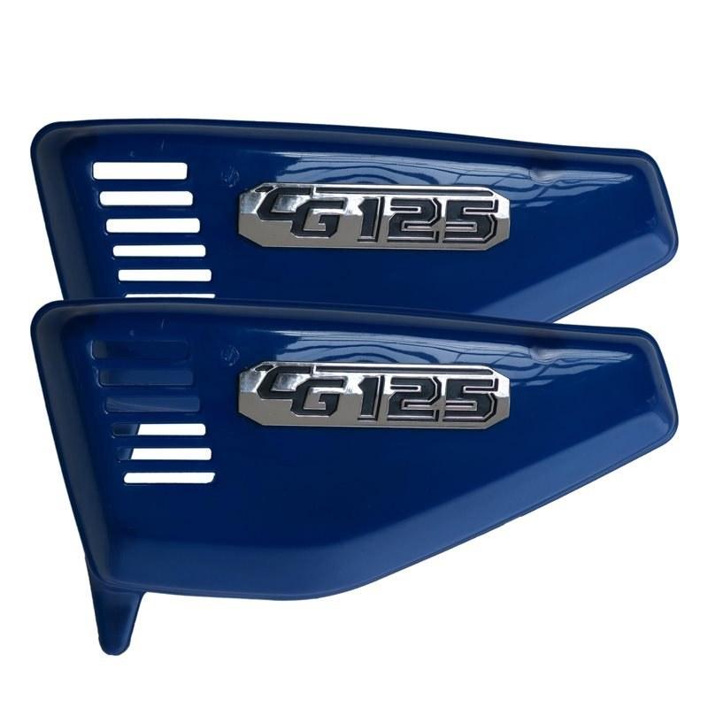 تصویر قاب بغل مدل آبی مناسب برای هوندا 125 بسته 2 عددی