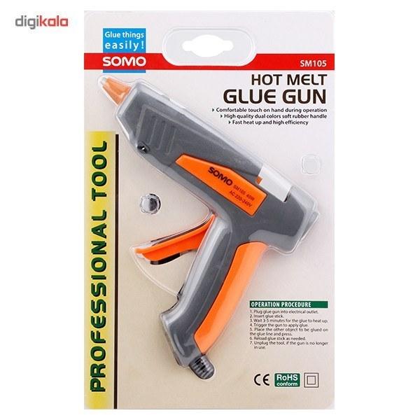 img دستگاه چسب حرارتی تفنگی سومو SM105 Somo sm-105 GLUE GUN