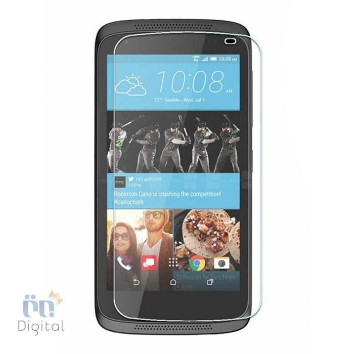 تصویر محافظ صفحه نمایش مناسب برای گوشی اچ تی سی مدل Desire 526 - Transparent, ضمانت تعویض ۷ روزه برتر دیجیتال