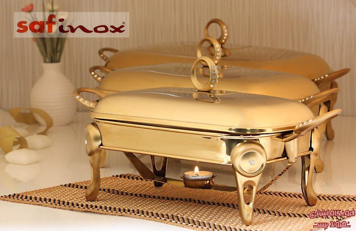 تصویر سوفله خوری مستطیل طلایی سافینوکس Safinox کدکالا 3157_64