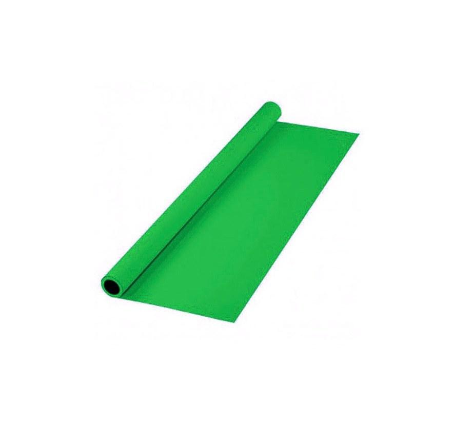 تصویر پرده سبز پارچهای 2x3 لوله پلاستیکی
