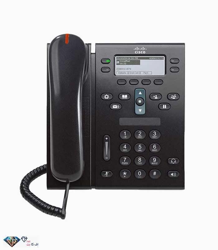 تصویر تلفن تحت شبکه (ویپ) سیسکو Cisco Ip Phone 6941
