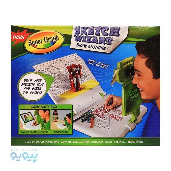 تصویر بازی آموزشی نقاشی مدل سوپر گراف