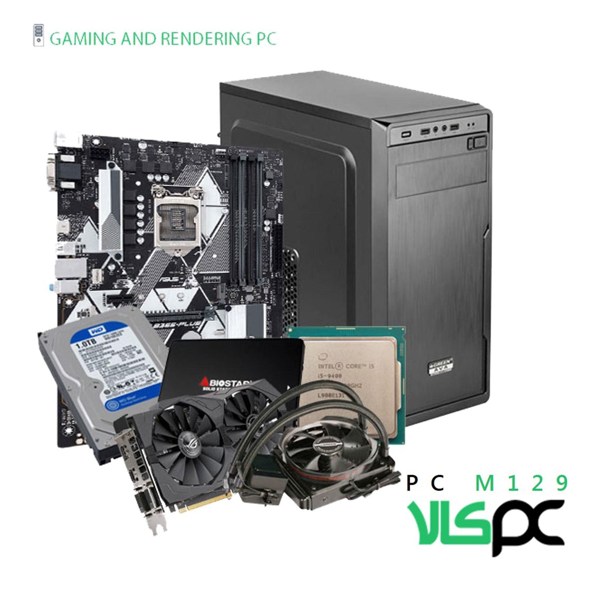 تصویر سیستم گیمینگ / رندرینگ / طراحی و مهندسی M129