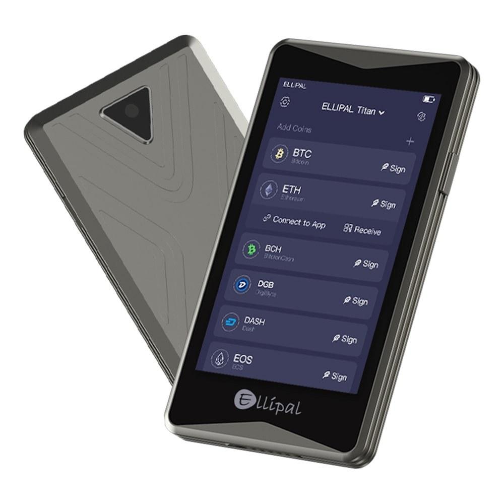 تصویر کیف پول سخت افزاری الیپال تایتان – ELLIPAL Titan Hardware Crypto Wallet