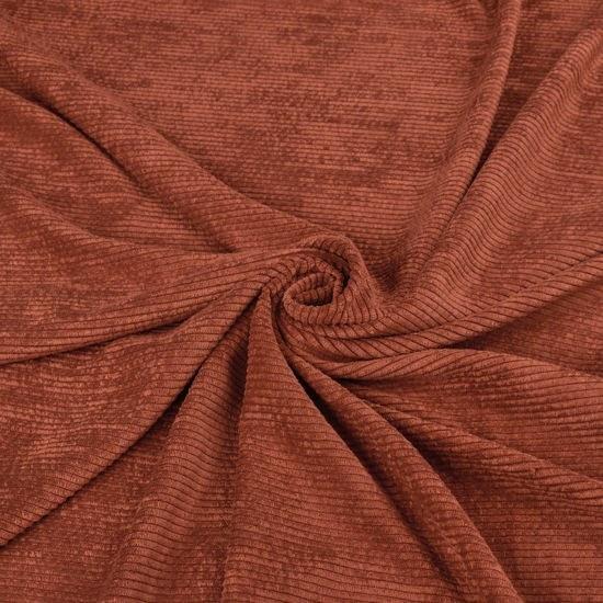 عکس پارچه مخمل کبریتی (آجری تیره)  پارچه-مخمل-کبریتی-اجری-تیره