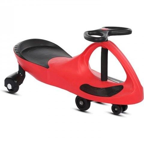 سه چرخه پلاسماکار چرخ ژله ای قرمز مشکی مدل 8097 |