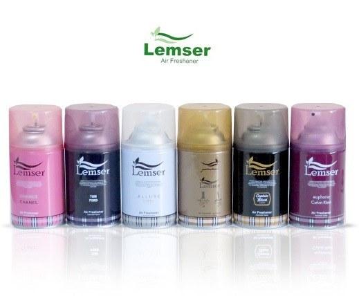 اسپری یدک دستگاه خوشبو کننده هوا LEMSER
