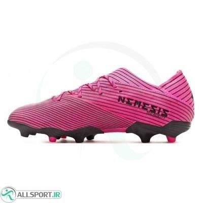 کفش فوتبال آدیداس نمزیز طرح اصلی مشکی صورتی Adidas Nemeziz 19.1 FG Pink Black